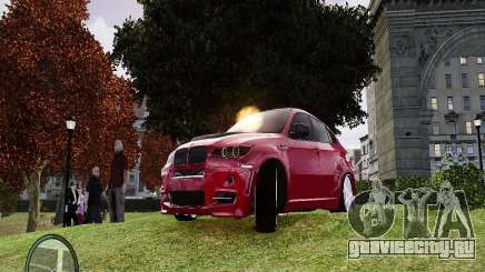 BMW X6M Lumma для GTA 4
