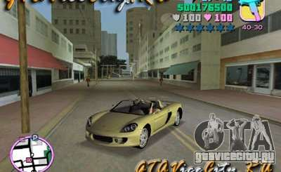 Porsche Carrera GT для GTA Vice City