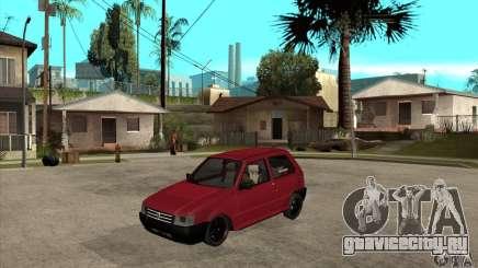 Fiat Uno Fire для GTA San Andreas