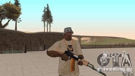 АК 47 для GTA San Andreas