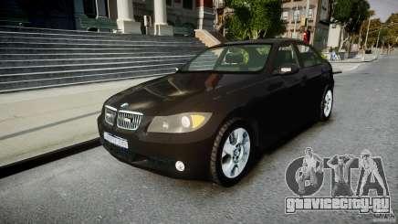 BMW 3-Series Unmarked [ELS] для GTA 4