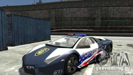 Lamborghini Reventon Police Stinger Version для GTA 4