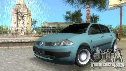 Renault Megane Sedan для GTA Vice City