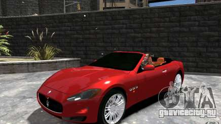 Maserati GranCabrio для GTA 4