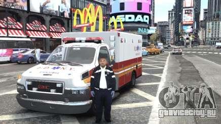 GMC C4500 Ambulance [ELS] для GTA 4