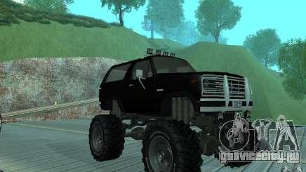 Ford Bronco Monster Truck 1985 для GTA San Andreas
