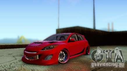 Mazda Speed 3 2010 для GTA San Andreas