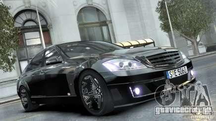 Mercedes-Benz Brabus SV12 R Biturbo 800 2011 Black Edition для GTA 4