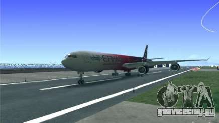 Airbus A340-600 Etihad Airways F1 Livrey для GTA San Andreas
