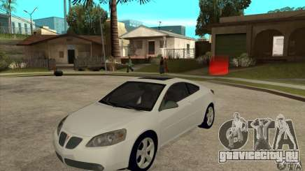Pontiac G6 Stock Version для GTA San Andreas