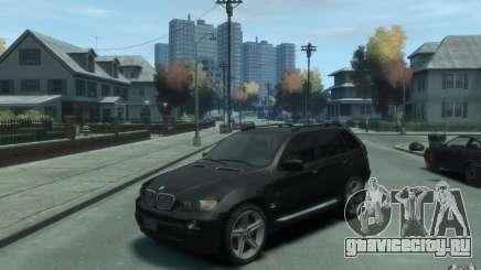 BMW X5 (E53f) 2004 для GTA 4