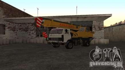 MAZ Автокран для GTA San Andreas