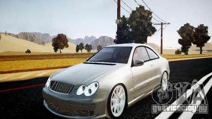 Mercedes-Benz CLK63 AMG Final для GTA 4