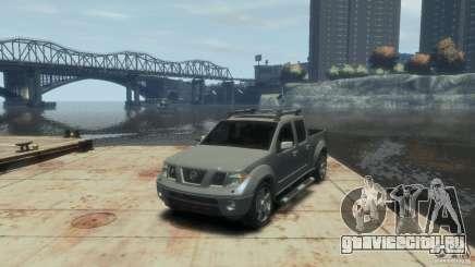 Nissan Frontier для GTA 4