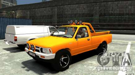Toyota Hilux 1989-1993 Single cab v1 для GTA 4