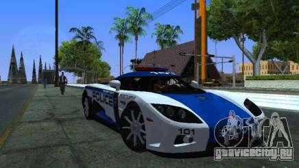 Koenigsegg CCX Police для GTA San Andreas