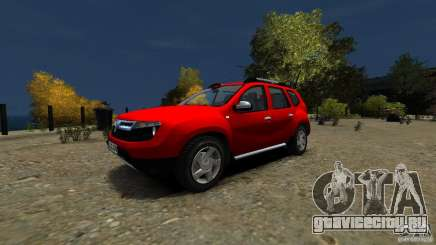 Dacia Duster SUV 4x4 2010 для GTA 4
