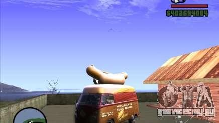 Volkswagen Transporter T1 Hot Dog для GTA San Andreas