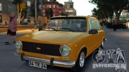 Fiat 124 для GTA 4