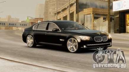 BMW 750 LI 2010 для GTA 4