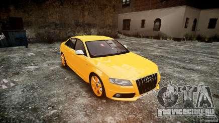 Audi S4 2010 олива для GTA 4
