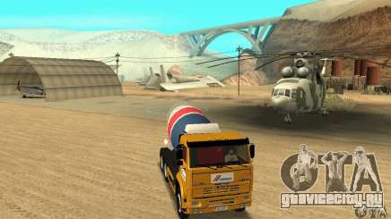 Камаз 53215 Tai Liebherr v1.1 для GTA San Andreas
