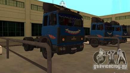 MAZ 5432 ЯМЗ-238Б 4x2 для GTA San Andreas