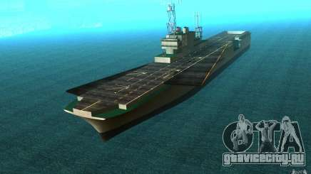 New Aircraft carrier для GTA San Andreas