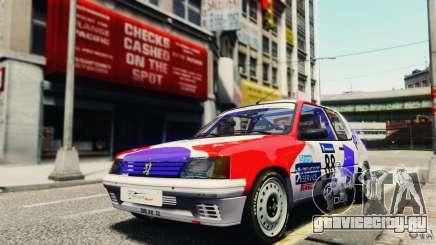Peugeot 205 Rally для GTA 4