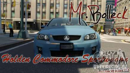 Holden VE Commodore Sportwagon SS 2009 для GTA 4