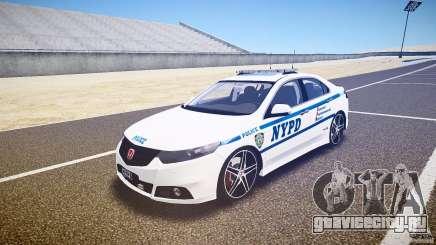 Honda Accord Type R NYPD (City Patrol 1090) [ELS] для GTA 4