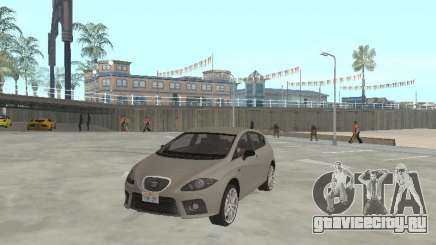 Seat Leon Cupra серебристый для GTA San Andreas