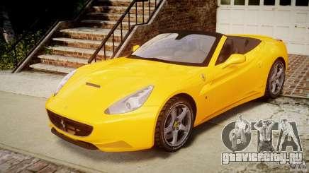 Ferrari California v1.0 для GTA 4