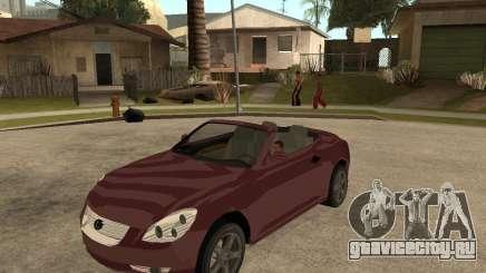 Lexus SC430 для GTA San Andreas