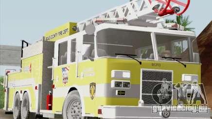 Pierce Arrow XT BCFD Tower Ladder 4 для GTA San Andreas