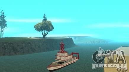 Vice City Ferryboat для GTA San Andreas
