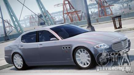 Maserati Quattroporte V для GTA 4