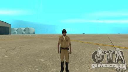 New uniform cops on bike для GTA San Andreas