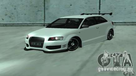 Audi S3 Full tunable для GTA San Andreas