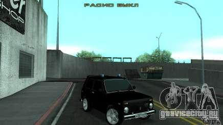 ВАЗ 21213 НИВА FBI для GTA San Andreas