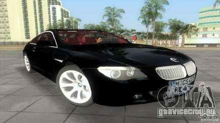 BMW 645Ci для GTA Vice City