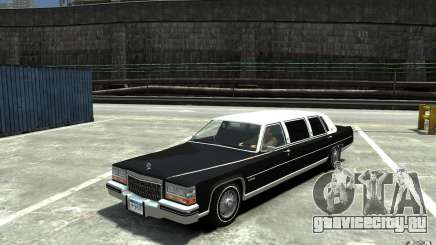 Cadillac Fleetwood Limousine 1985 [Final] для GTA 4