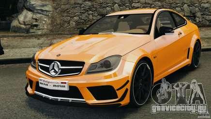 Mercedes-Benz C63 AMG 2012 для GTA 4