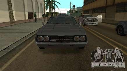 Sabre из GTA 4 купе для GTA San Andreas
