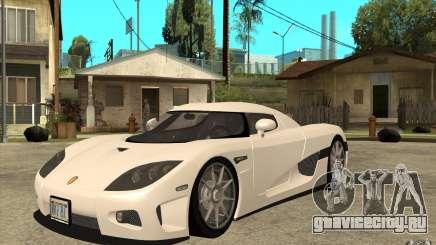 Koenigsegg CCX - Stock для GTA San Andreas