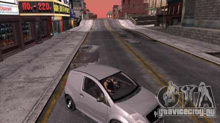 Citroen C2 workers car для GTA San Andreas