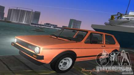 Volkswagen Golf Mk1 GTI для GTA Vice City