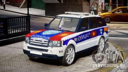 Range Rover Macedonian Police [ELS] для GTA 4