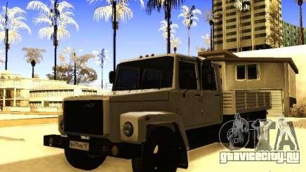 ГАЗ 3309 Двухрядный для GTA San Andreas