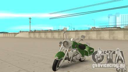 Harley Davidson Road King для GTA San Andreas